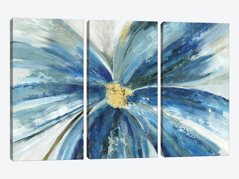 Ophelia I by Asia Jensen 3-piece Canvas Wall Art