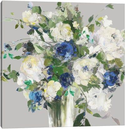 Shining White Canvas Art Print
