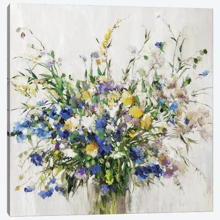 Wild Flower Bouquet Canvas Print #ASJ524} by Asia Jensen Canvas Art