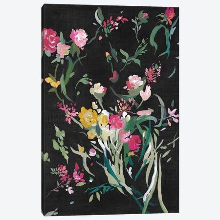 Midnight Blooming Botanicals I Canvas Print #ASJ540} by Asia Jensen Art Print