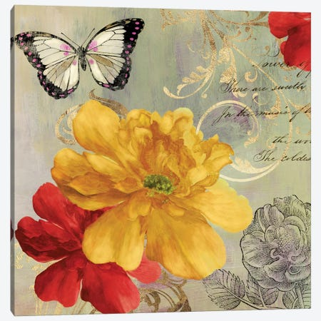 Cottage Yellow Canvas Print #ASJ58} by Asia Jensen Art Print