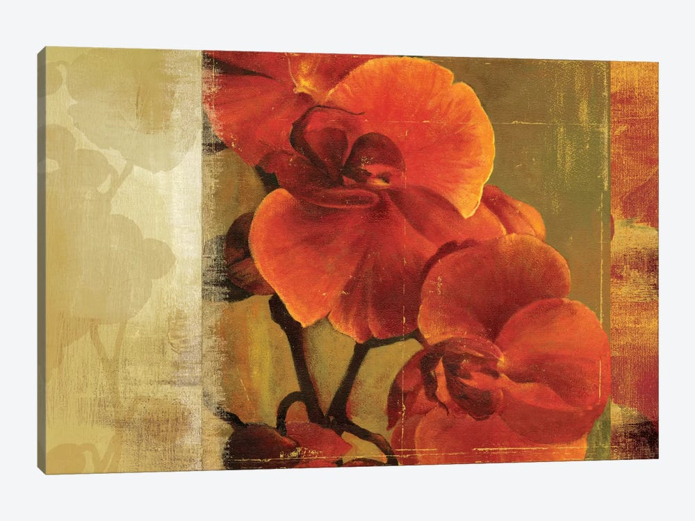 Crimson Delight by Asia Jensen 1-piece Canvas Wall Art