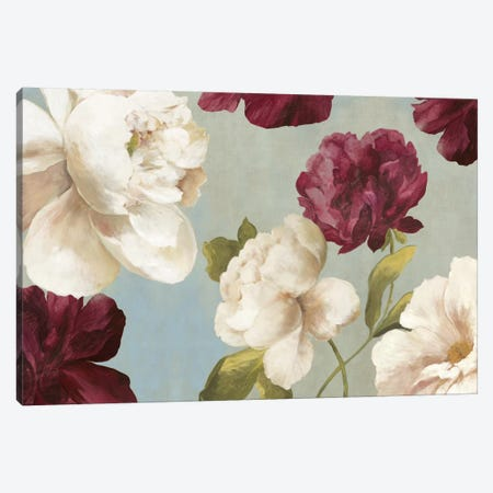 Deep Peonies I Canvas Print #ASJ64} by Asia Jensen Canvas Art Print
