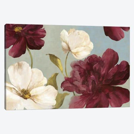 Deep Peonies II Canvas Print #ASJ66} by Asia Jensen Canvas Print