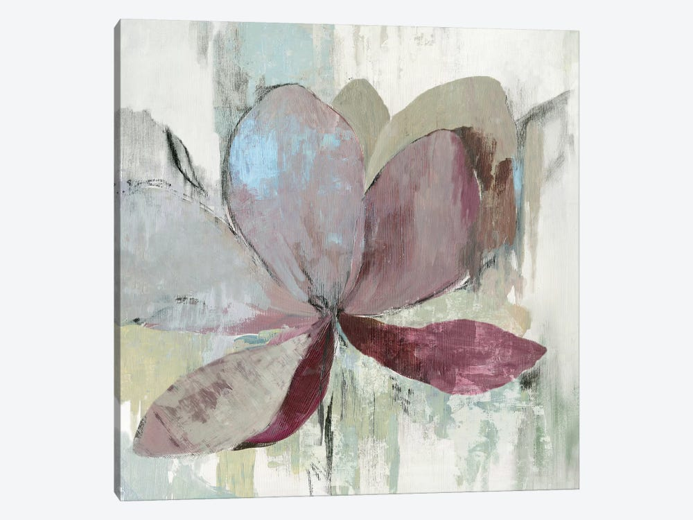 Drippy Floral I by Asia Jensen 1-piece Canvas Print