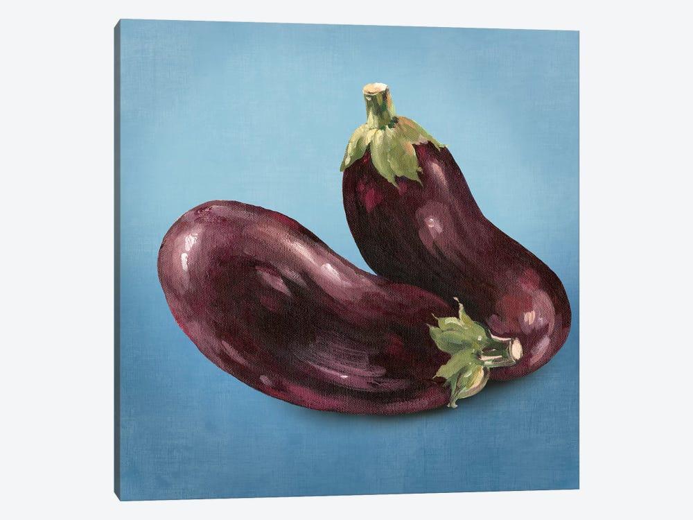 Eggplant by Asia Jensen 1-piece Canvas Art Print