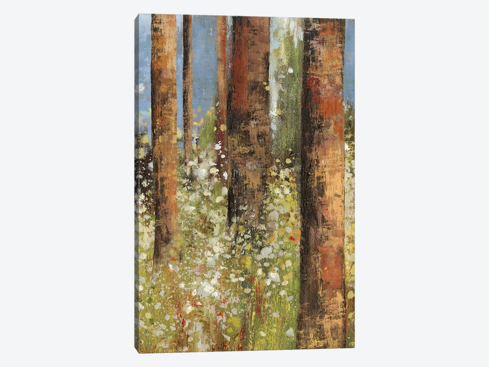 Field Of Flowers I 1-piece Canvas Wall Art