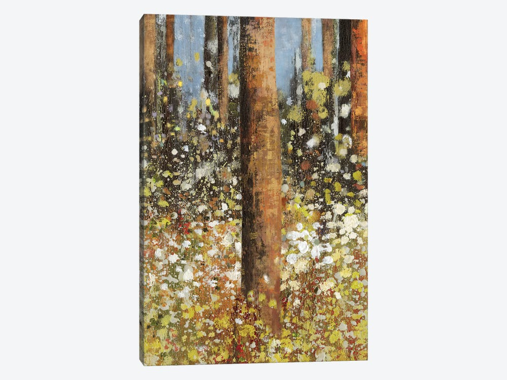 Field Of Flowers II by Asia Jensen 1-piece Canvas Print
