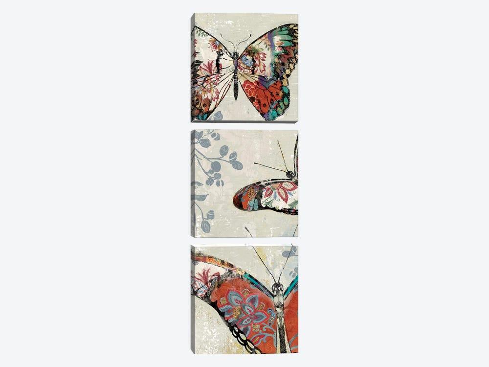 Flight Of Fancy II by Asia Jensen 3-piece Canvas Wall Art