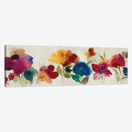 Floral Dance I Canvas Print #ASJ94} by Asia Jensen Canvas Art