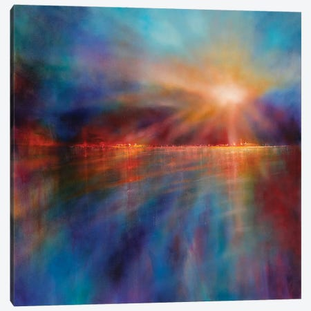 Another Morning Canvas Print #ASK11} by Annette Schmucker Canvas Wall Art