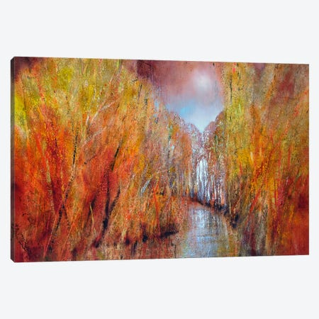 Autumn Canvas Print #ASK15} by Annette Schmucker Art Print