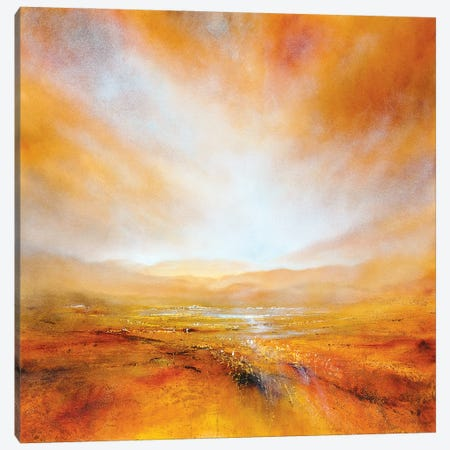 Autumnal Light Canvas Print #ASK17} by Annette Schmucker Canvas Art Print