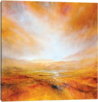 Autumnal Light Canvas Art Print
