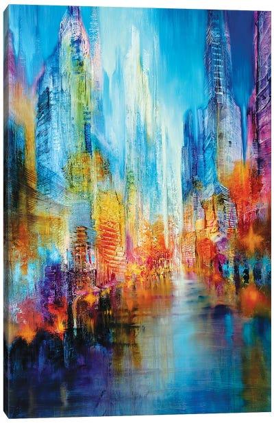 Big City Canvas Art Print