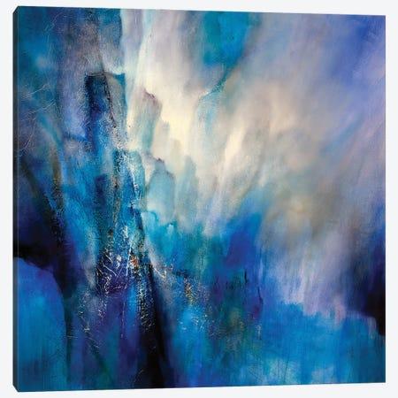Blue Light Canvas Print #ASK21} by Annette Schmucker Canvas Art Print