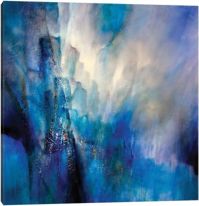 Blue Light Canvas Art Print