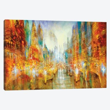 City Of Lights Canvas Print #ASK23} by Annette Schmucker Canvas Print