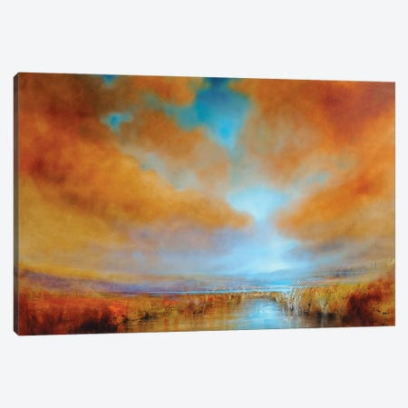 Colours Of Light Canvas Print #ASK28} by Annette Schmucker Canvas Print