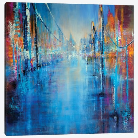 Coming Home Canvas Print #ASK29} by Annette Schmucker Art Print