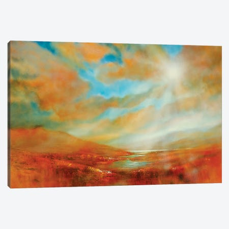 Far Away Canvas Print #ASK38} by Annette Schmucker Canvas Wall Art