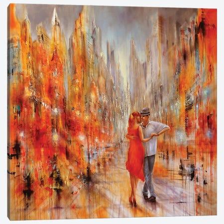 Salsa Canvas Print #ASK66} by Annette Schmucker Canvas Artwork