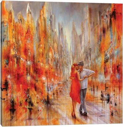 Salsa Canvas Art Print