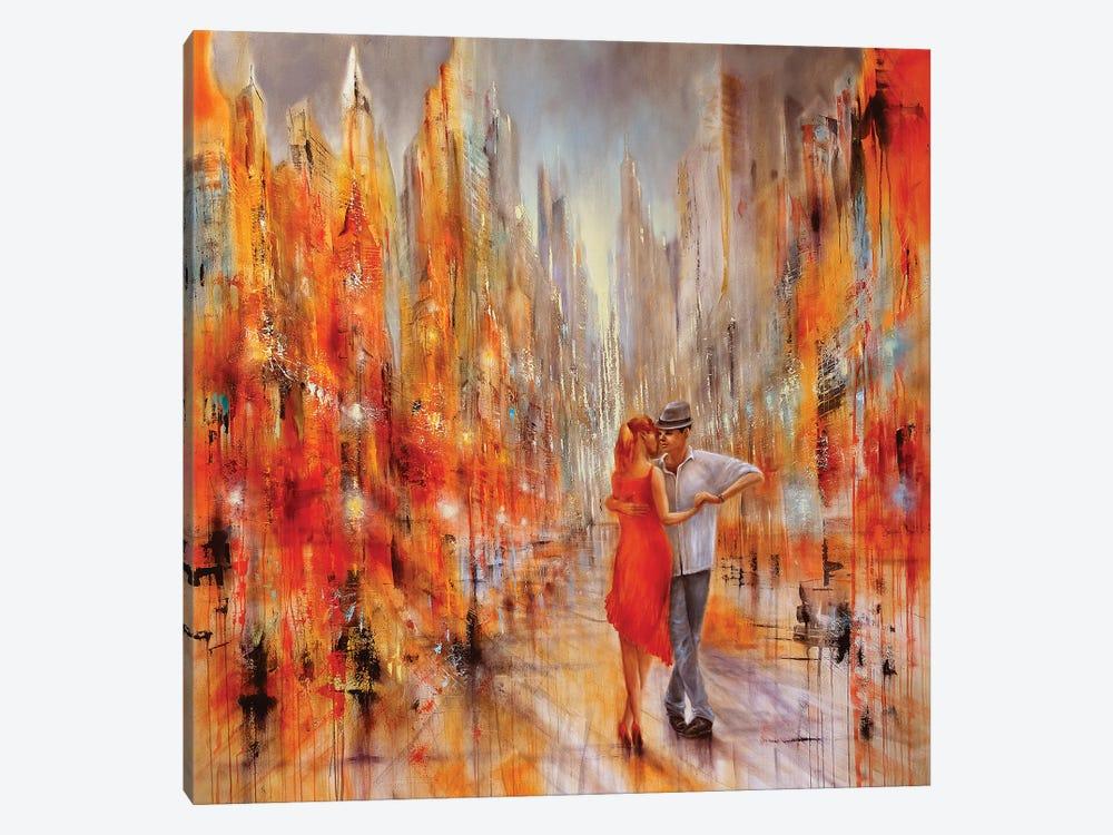Salsa by Annette Schmucker 1-piece Art Print