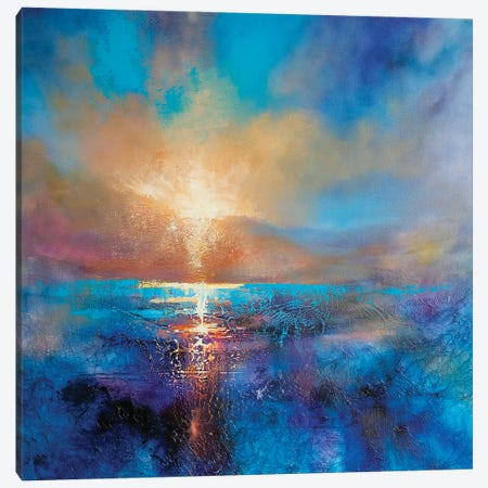 And Always The Sun Canvas Print #ASK6} by Annette Schmucker Art Print