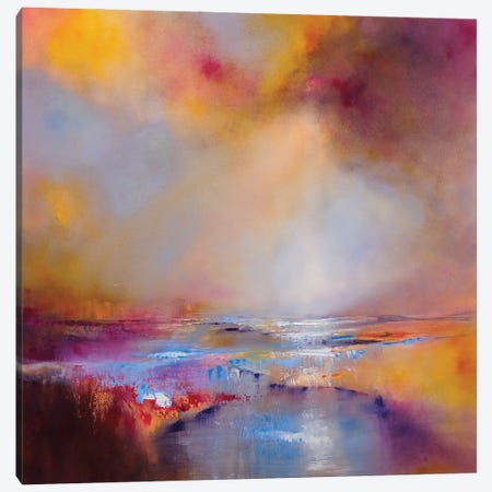 Sunlight Canvas Print #ASK74} by Annette Schmucker Canvas Print