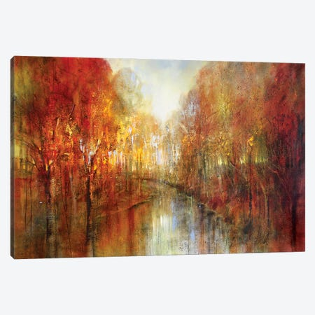 And The Forests Will Echo With Laughter Canvas Print #ASK8} by Annette Schmucker Canvas Art