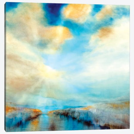 Ins Offene 3-Piece Canvas #ASK94} by Annette Schmucker Canvas Art Print