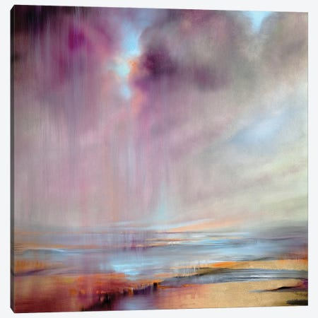 And Then The Sky Opens Up Canvas Print #ASK9} by Annette Schmucker Canvas Art
