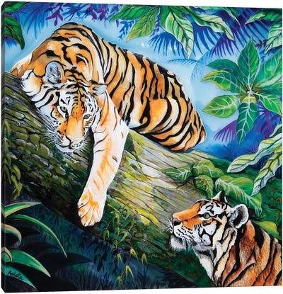 Tigers Canvas Art Print
