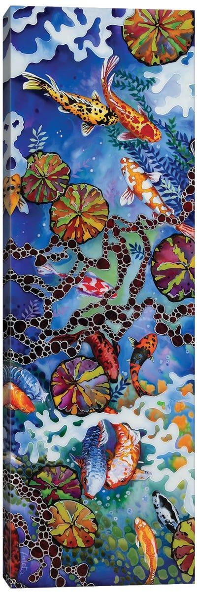 Colourful Koi II Canvas Art Print
