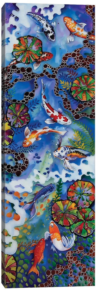 Colourful Koi III Canvas Art Print