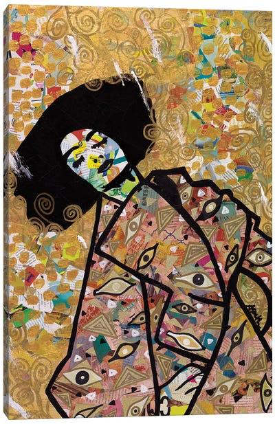 Eyes On You Canvas Art Print