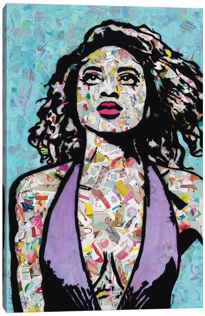 Fearless Canvas Art Print