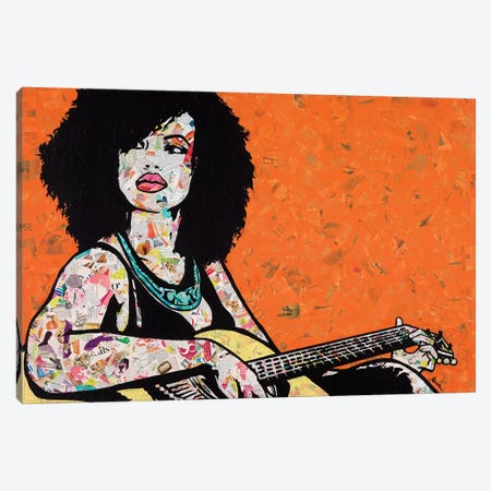 Instrumental 3-Piece Canvas #ASM16} by Amy Smith Canvas Print