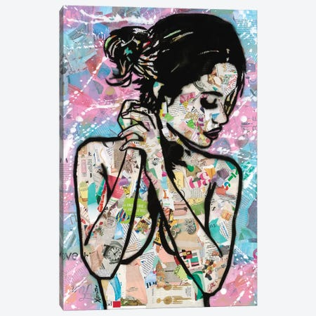 Loving Canvas Print #ASM20} by Amy Smith Canvas Art Print
