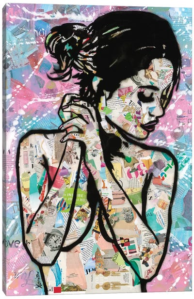 Loving Canvas Art Print