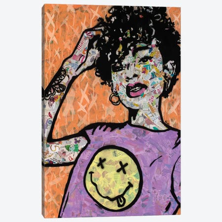 Nevermind Canvas Print #ASM21} by Amy Smith Canvas Print