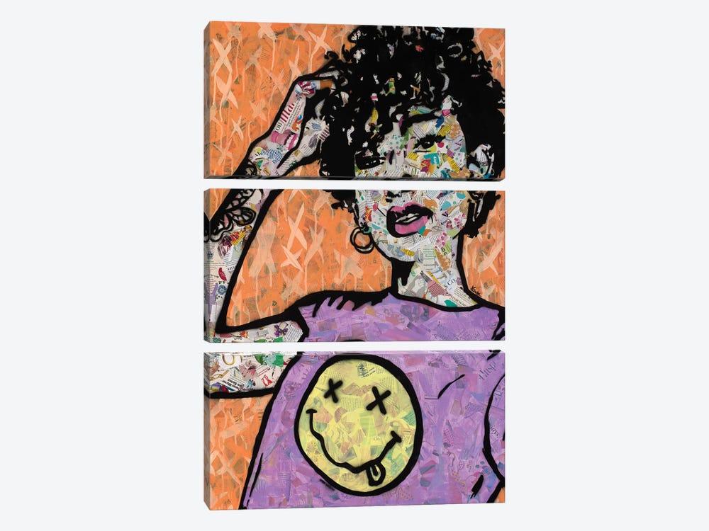 Nevermind by Amy Smith 3-piece Canvas Art