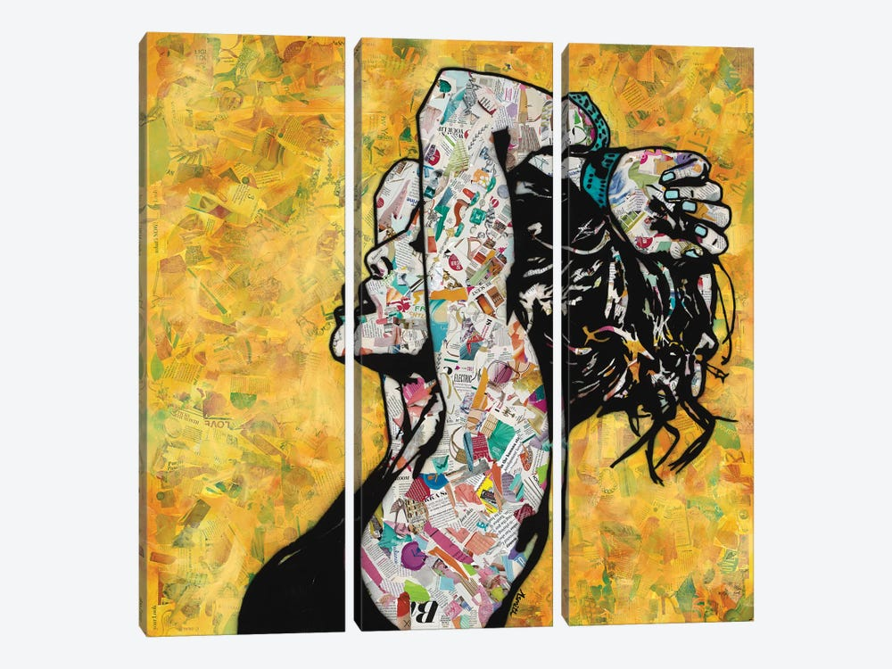 Sensual by Amy Smith 3-piece Canvas Art