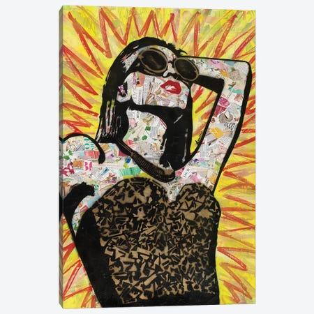 Shine Bright Canvas Print #ASM26} by Amy Smith Canvas Wall Art