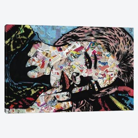 Sleep Canvas Print #ASM27} by Amy Smith Canvas Art