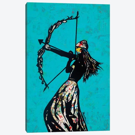 The Archer Canvas Print #ASM29} by Amy Smith Art Print