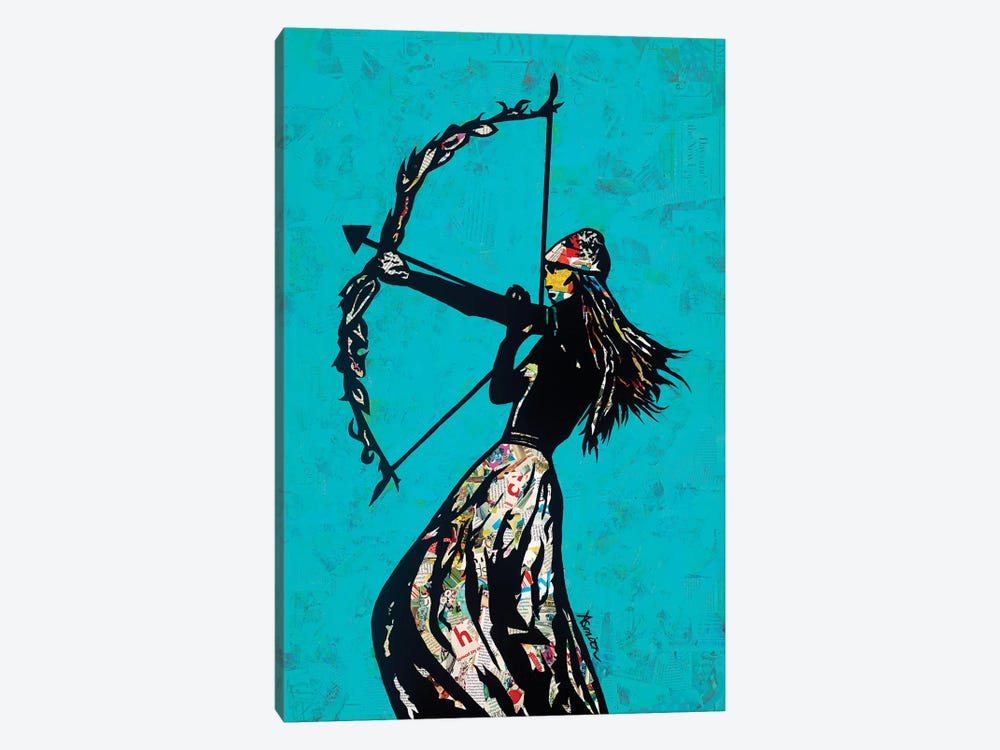 The Archer by Amy Smith 1-piece Canvas Artwork