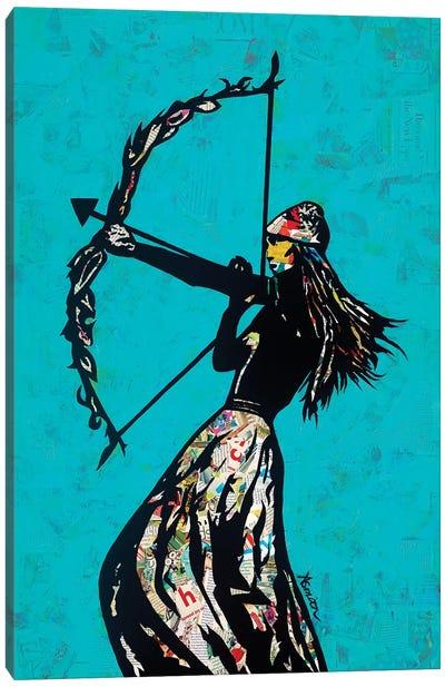The Archer Canvas Art Print