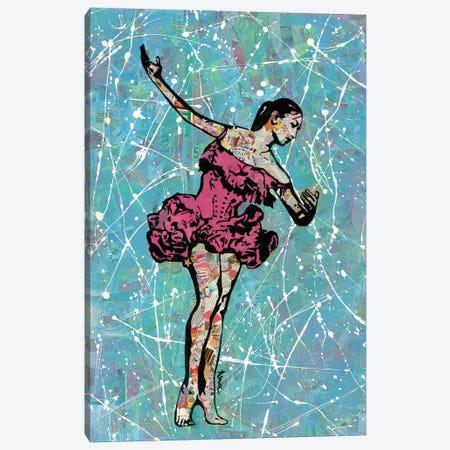 Ballerina 3-Piece Canvas #ASM2} by Amy Smith Canvas Artwork